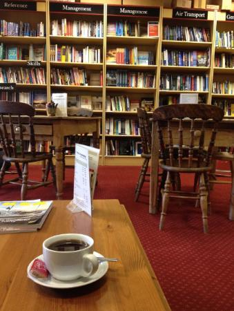 the cafe bookshop