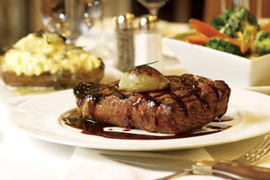The School Restaurant: Steak Dinner