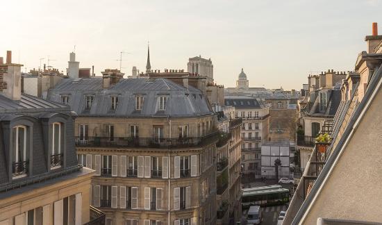 Hotel Andrea: la vue de la triple luxe du 6e étage