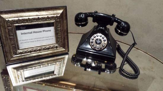 The Fairmont Palliser Charming Old House Phone In Lobby Note Need For