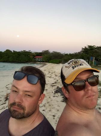 Punta Gorda, Belice: After sunset - Lime Caye