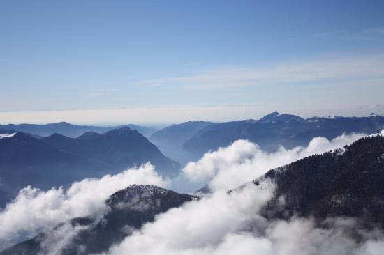 Castione della Presolana, Italien: View from Monte Pora