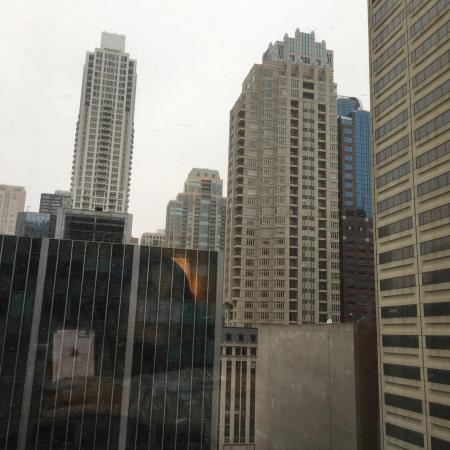 snowing outside picture of hyatt centric chicago magnificent mile rh tripadvisor com