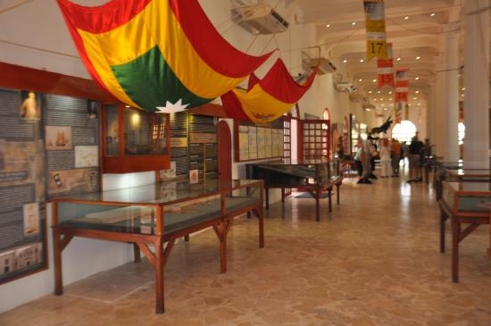 Naval Museum of the Caribbean : Interior do museu naval