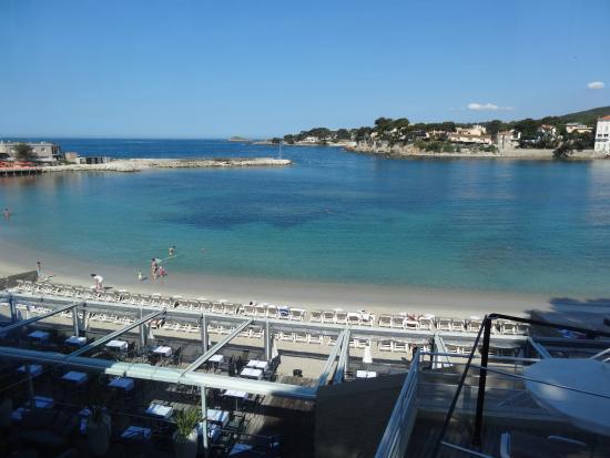 Chambre avec vue sur la mer photo de h tel ile rousse for Hotels ile rousse