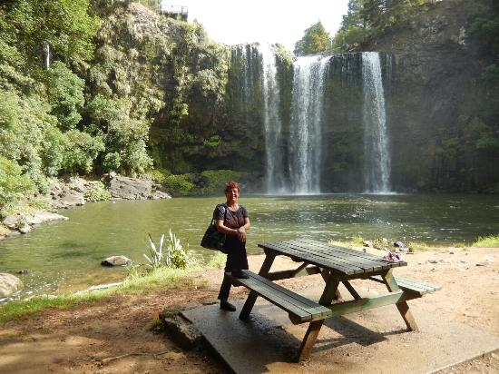Whangarei, Nueva Zelanda: Rest at bottom of falls
