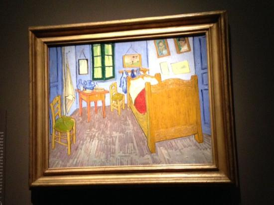 Van Gogh 39 S Bedroom Picture Of The Art Institute Of Chicago Chicago T