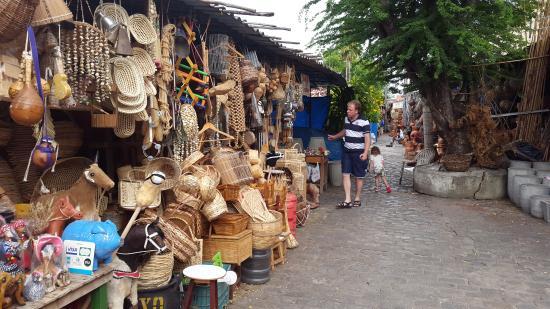 Aparador Bar Adega Para Sala ~ Muito material em palha, panelas, vassouras Picture of Mercado do Artesanato, Maceio TripAdvisor
