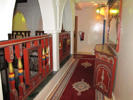 Moroccan House Hotel Casablanca: Коридор возле номера
