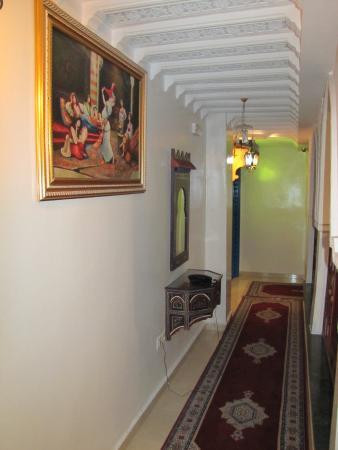 Moroccan House Hotel Casablanca: Коридор-галерея