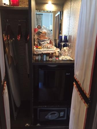 fully stocked mini bar including teddy bear for purchase picture rh tripadvisor co za