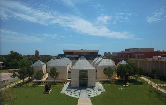The Fred Jones Jr. Museum of Art at the University of Oklahoma Norman campus.