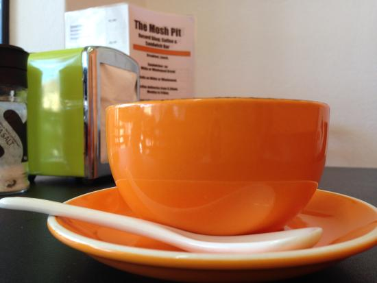 Cardiff, Australia: gorgeous coffee cups