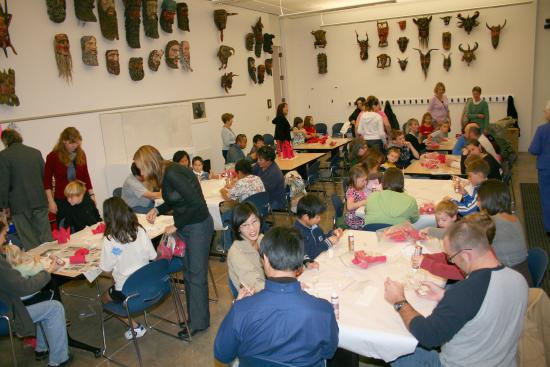 Fred Jones Jr. Museum of Art: Family Days and other programs offer hands-on art activities for families.