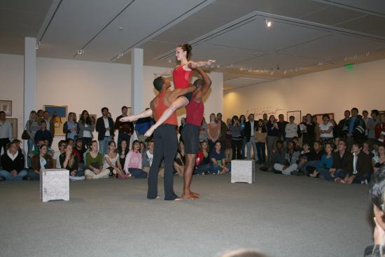Fred Jones Jr. Museum of Art: As a multi-disciplinary environment, the museum encourages artistic responses of all kinds.
