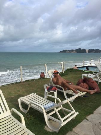 Aram Natal Mar Hotel: Vista privilegiada.