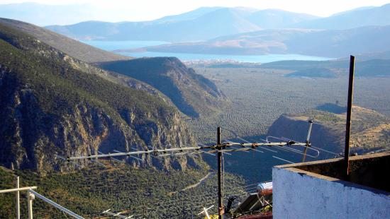 Sibylla Hotel: Вид с балкона