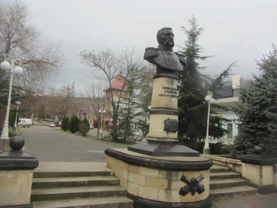 Monument to N.M. Sokovnin