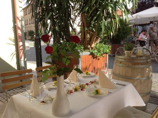 Bad Langensalza, Alemania: Romantisches Dinner