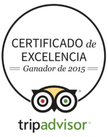 Certificado excelencia 2015 picture of la olma pedraza - La olma de pedraza ...