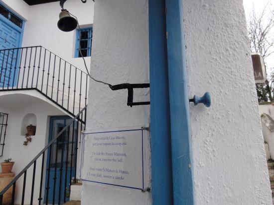 Casa-Museo de Manuel de Falla: Timbre original para llamar a la puerta!