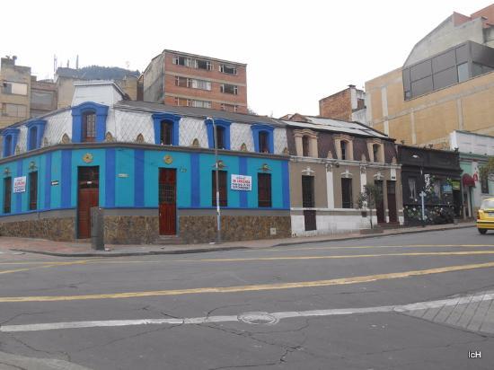 La Macarena: Casa antigas receberam colorido