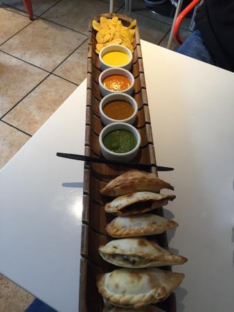 Panas Gourmet Empanadas: Empanada Platter