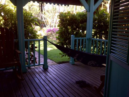 Lovely cottage in beautiful garden 200 m from beach!