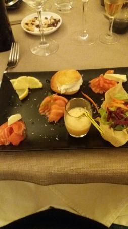 Restaurant Capion: Saumon fumé maison