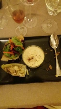 Restaurant Capion: Tiramisu au roquefort