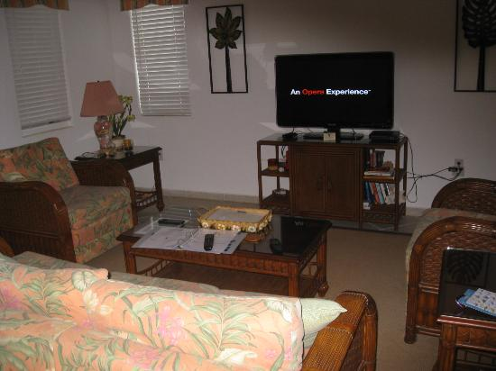 Perla Boneriano: living area