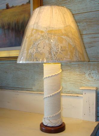 skipjack s custom made french whipped nautical table lamp and rh tripadvisor com