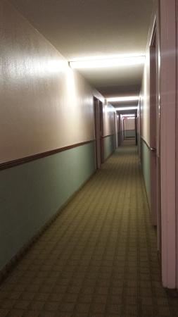Days Inn ST. Paul-Minneapolis-Midway: Not a very inviting hallway.. but matched the hotel
