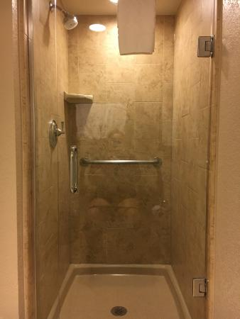 Hilton Grand Vacations at the Flamingo: Separate shower (soaking tub in room)