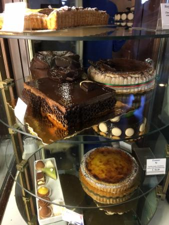 Douceur de France: Just a few of the mouth-watering delicacies on offer