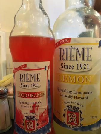 Douceur de France: Various flavors of Limonade from France