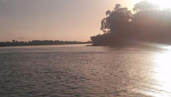 Baffle Creek Caravan & Camping Park: Early morning fish.