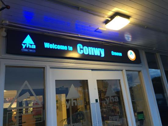 YHA Conwy: 入り口