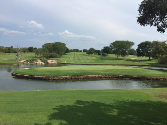 Malelane, Zuid-Afrika: Leopard Creek Country Club