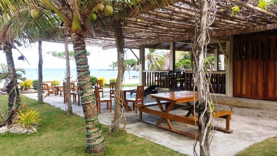 Tablas Island, Philippines: Aglicay Beach Restaurant