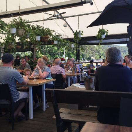 patrons relaxing in this lovely setting and enjoying lunch picture rh tripadvisor com