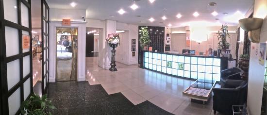 Hôtel du Helder : réception