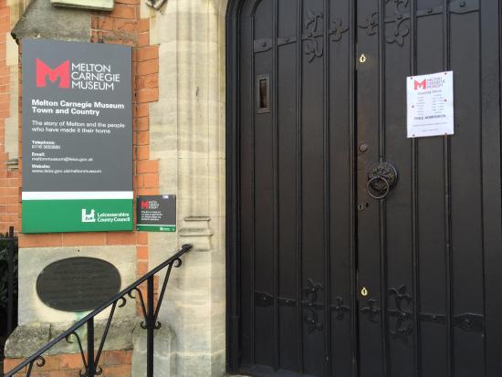 Melton Carnegie Museum: Museum Opening Times