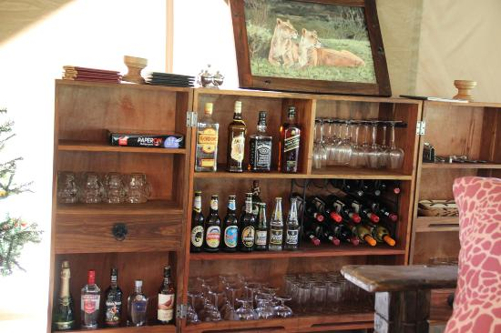 Serengeti Acacia Camps Mini Bar
