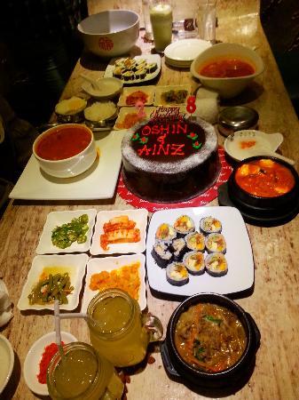 Makanan Korea Di Sweetree Yang Halal Saya Dan Kawan Kawan Hari