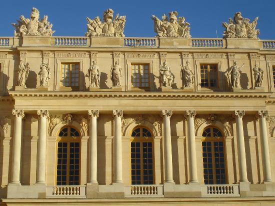 Vue sur la perspective des jardins picture of chateau de for Jardin chateau de versailles