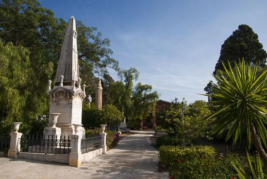 ‪English Cemetery at Malaga‬