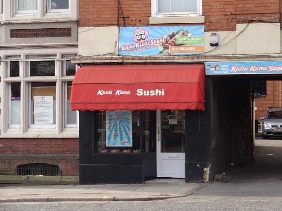 Kuru Kuru Sushi: The exterior