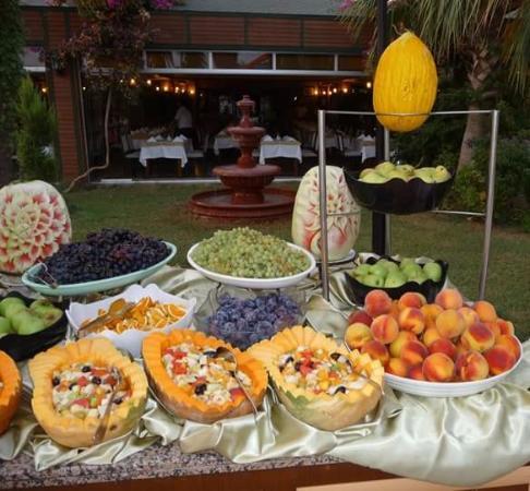 Incekum Beach Resort: Dinner offer