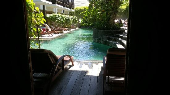 you can step into the pool from your room picture of the oasis rh tripadvisor co za